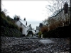 Clovelly - historic fishing harbour village