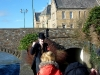 Barnstaple city tour with the guide.