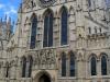 Vchod do katedrály v Yorku