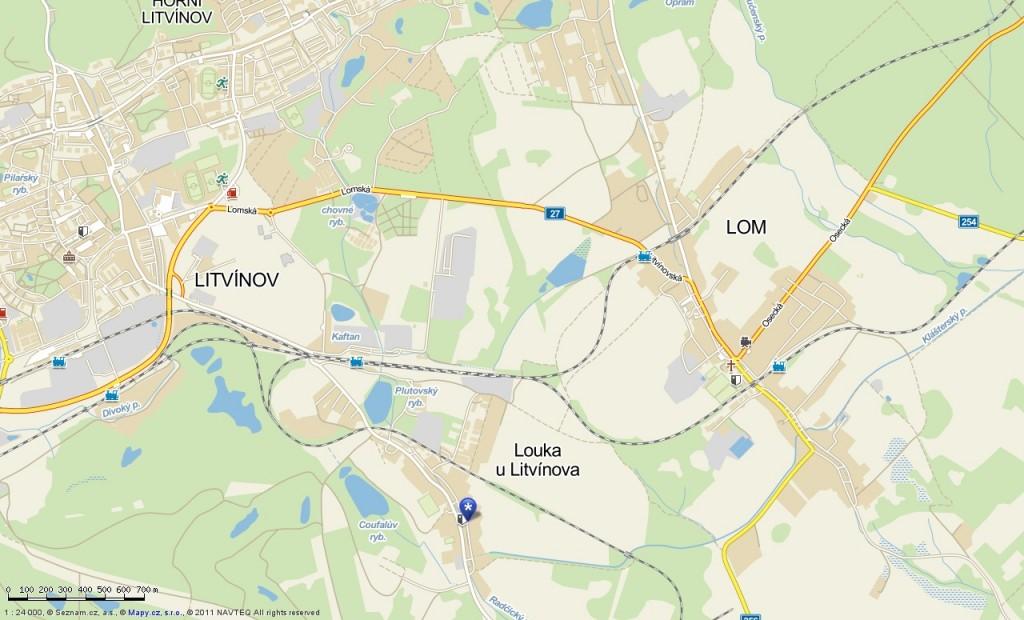 Husova 172, Louka u Litvínova