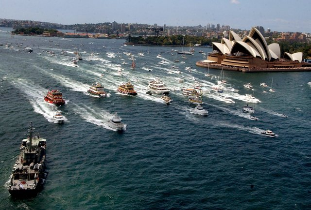 Australia Day represents the arrival of the First Fleet